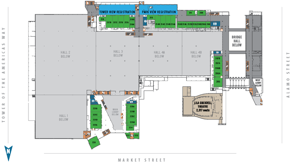 floor plans convention center floorplans