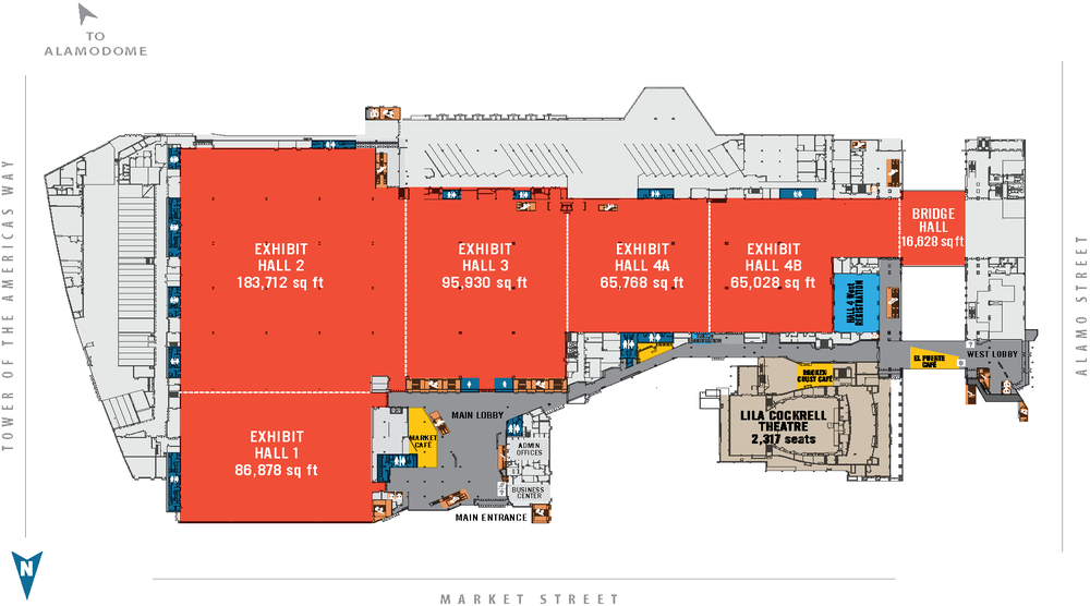 San Diego Convention Floor Plan Floor Plans Aap San Diego