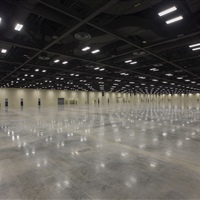 Interior Exhibit Halls 1 and 2